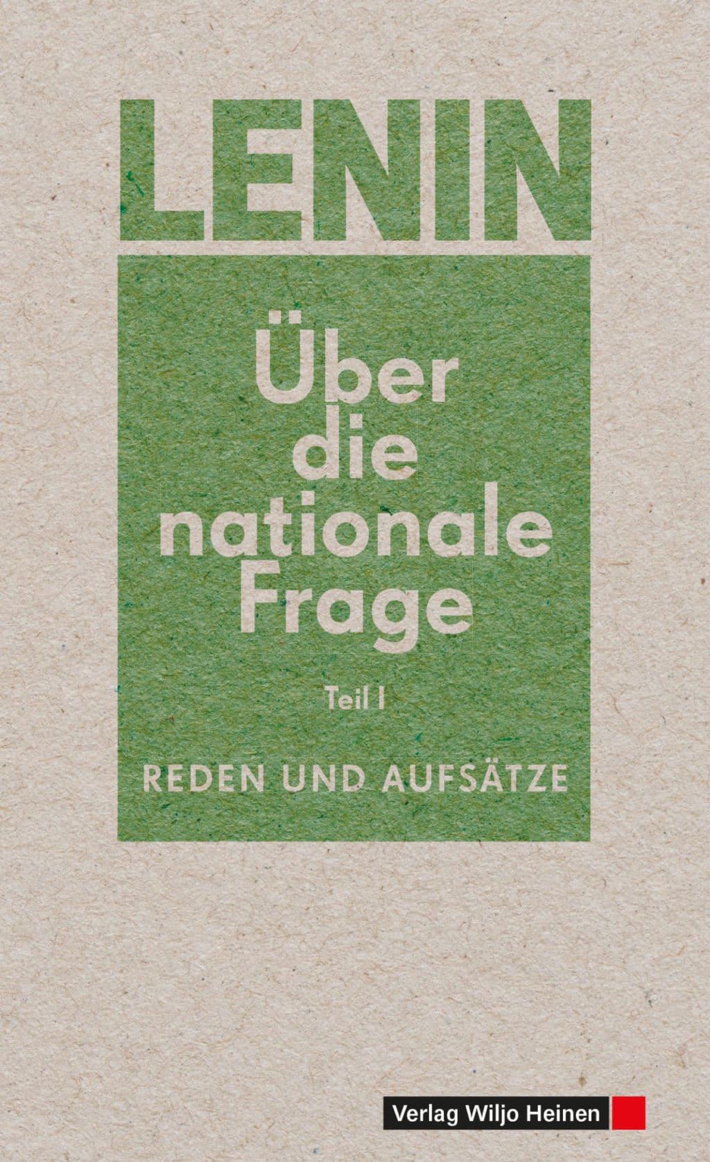 Umschlag »Über die Nationale Frage (1)«