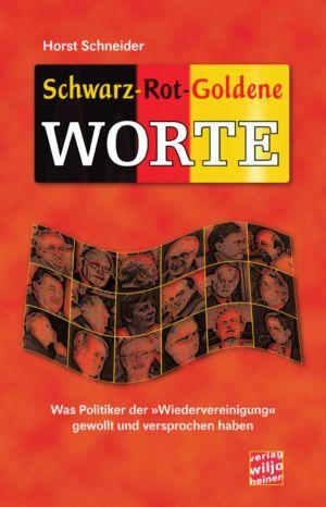 Cover: »Schwarz-Rot-Goldene Worte«
