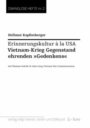 Hellmut Kapfenberger: »Erinnerungskultur à la USA«