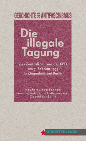 Cover: »Die illegale Tagung …«