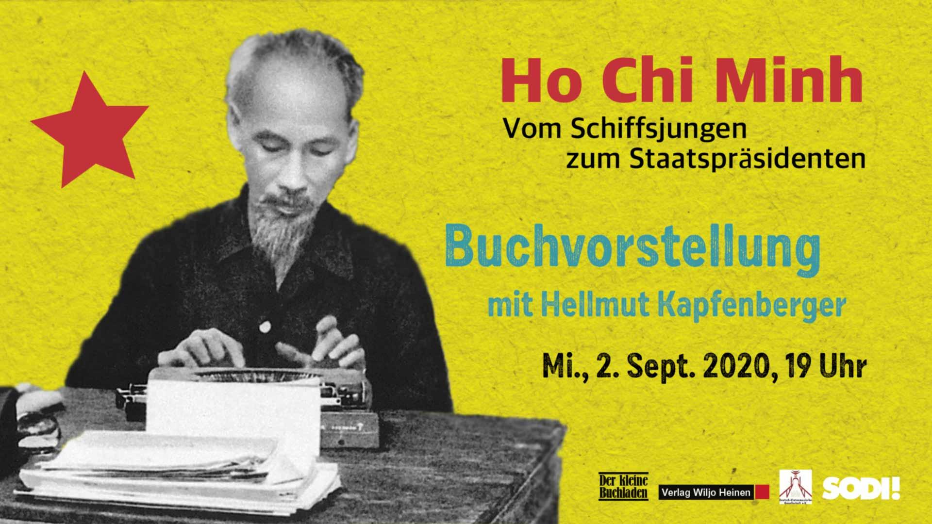 Buchvorstellung »Ho Chi Minh« am 2.9.2020
